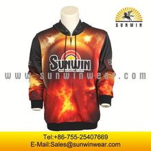 digital high quality sublimation manufacturer sublimation men thin hoodie