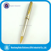 2014 stationery new office ink metal pen holder clip