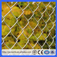 PVC Coated/hot dipped/Galvanized Chain link sport fencing professional supplier(Guangzhou Factory)