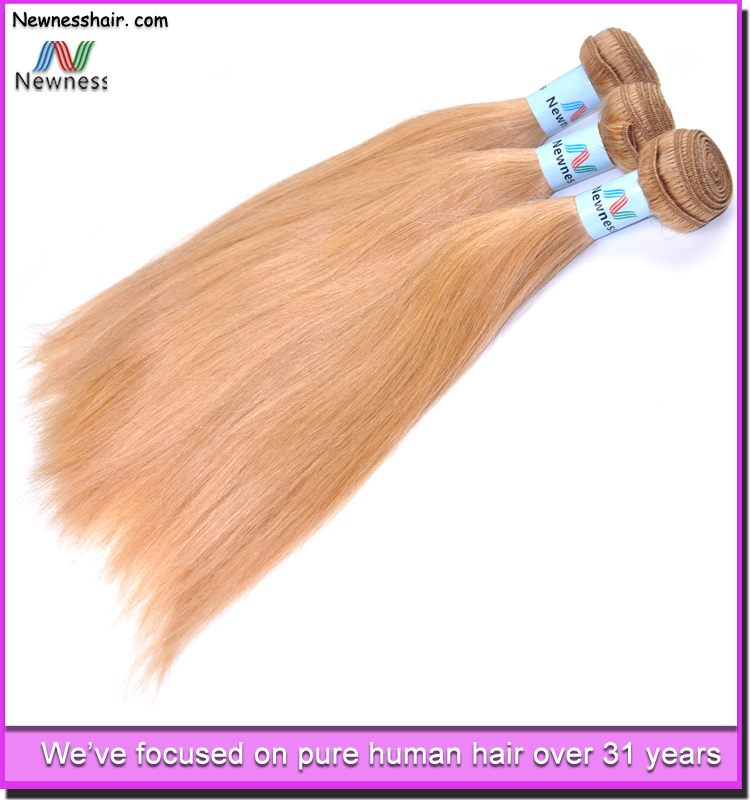 Fast Shipping Blonde Curly Hair Extensions Human Hair Extension