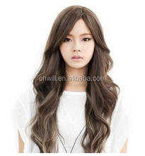 Hot Sale 22 Inch fashionable synthetic hair wig wavy