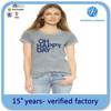 Hot Sale OEM Service High Quality Women Custom Short Sleeve Bulk T-shirt