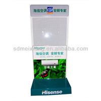 MX-M041 Durable Floor Metal Wire Display Rack/ Metal Display Shelf For Air Condition Display