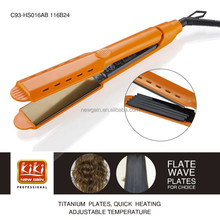 Professional Hair Straightener. LED display hair straightener. PTC heater ceramic hair straightener