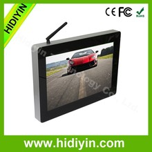 13.3 inch vertical 1080p digital signage,wall mounted for hotels/banks full hd advertising media player