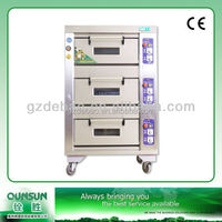 Multi function industrical kitchen bakery gas stainless steel baking oven