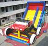 Big Amusement [ark Adult and Kids Inflatable Truck Slide