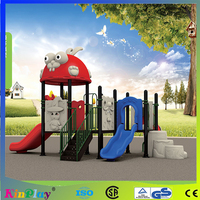 galvanized pipe, lldpe, rubber coated platform large outdoor playground equipment