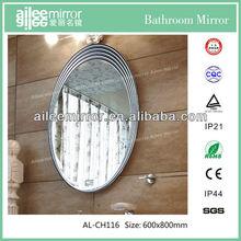 glitter mirror frame bathroom mirror