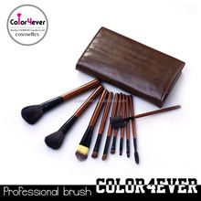 Manufacture!Essential 10pcs custom logo makeup brush set cosmetic company