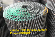 High load coil nails, 900pcs 1200pcs 1500pcs/roll, Wood Pallet Coil Nail, Using Nail Gun