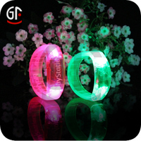 Gifts Manufacture Fashion Magnetic Led Silicone Wristband Watch