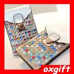 OXGIFT New ladies rhinestone purses , Cell Phone shoulder bag, Messenger Bag wholesale