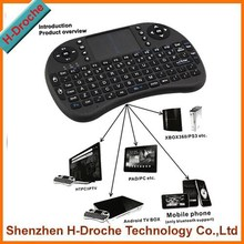 Newest arrival 2.4G mini wirelese air fly mouse for smart tv with USB 2.4g mini fly air gyro mouse wireless keyboard