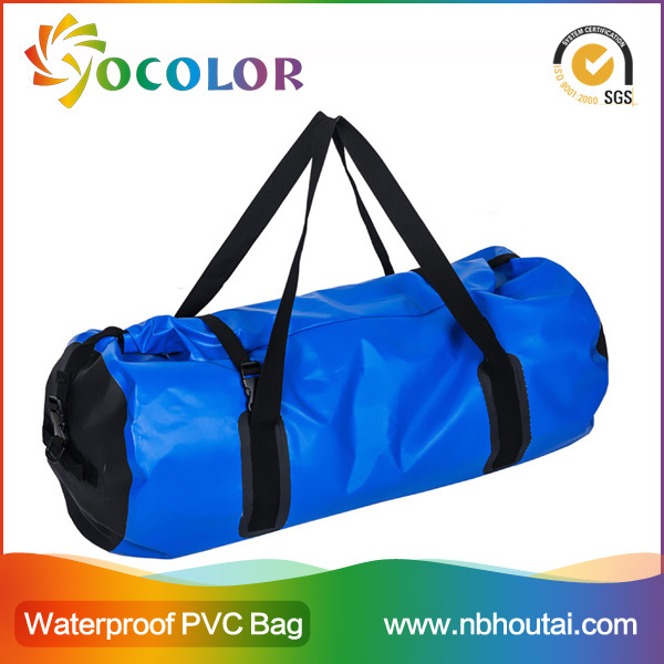 2015 hot sale 500D PVC tarpaulin red inflatable waterproof dry bag for boating