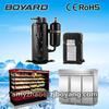supermarket showcase refrigerators condensing unit heat exchange equipment with r404a rotary refrigerator compressor