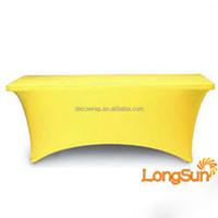 Good sale cheap spandex table cloth