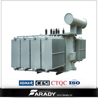 Manufacture supply high quality 5mva 11kv 33kv three phase oil immersed power transformer