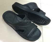 middle east arabic man's chappal slipper white black color