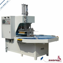 Turntable high frequency art knife blister welding & cutting machine