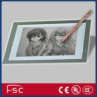 A3 led tracing board for Art Graphics Drawing Tablet