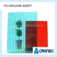 Polycarbonate solar hollow sheet
