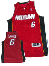 de calidad superior del club de baloncesto de miami reproductor de james 6 camisetas de baloncesto