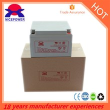 Deep cycle battery GE24-12 12v 24ah gel battery silicon in storage battery