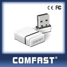 Hot Sale 802.11n Mini Wireless Wifi Usb Adapter WiFi USB 2.0 LAN card Hot USB 2.0 Lan Ethernet Adapter150M!