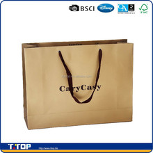 BSCI & FSC Factory Customized Luxury Shopping Paper Bags