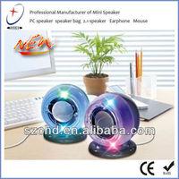 portable intex multimedia 2.0 USB computer speaker