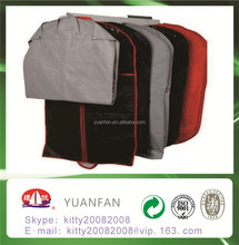 Nonwoven fabric bag used for clothes