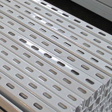 perforated channel