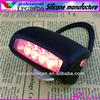 7 led flash rear waterproof mountain silicone rubber bike light