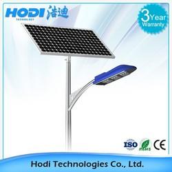 12V 24V DC 40W 60W solar led street light manufacturer polycrystalline silicon solar PANEL