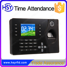 Finger print time attendance with free software