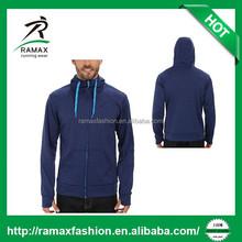 Ramax Custom Men Plain 100% Polyester Fleece Hoodies