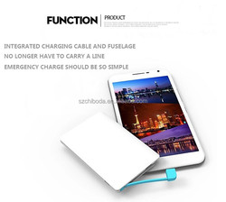 Power Bank 2500mAh Ultra-Thin Wallet Sized Portable USB External Battery Charger for mobiles