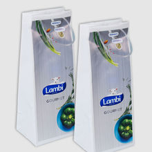Luxury Plastic Bags with Tubes Handles