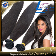 Indian remy virgin human hair natural color straight ,wholesale factory price polo ralph lauren