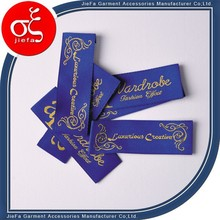 Fancy brand name clothing labels/cheap clothing labels