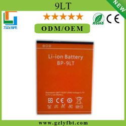 gb/t 18287-2013 mobile phone battery 3.7v 2500mah Li-ion battery bp-9lt iron 5 venon 5""