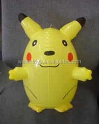 Yellow Moon Cat Inflatable Toy,inflatable Moon cat