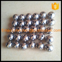 drilled or threaded stainless steel ball with a hole