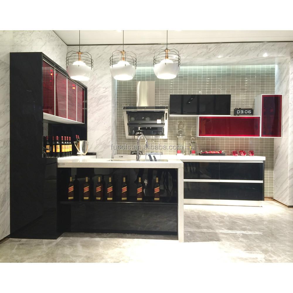 Pvc Kitchen Cabinet Door Price Modular Kitchen Cabinet