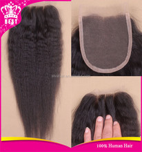 In Stock Best Quality Factory Directly Light Yaki Lace Closure