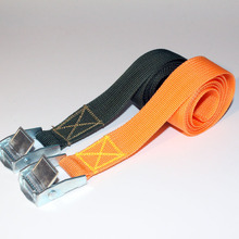 3T heavy load polyester tie down strap, 1.5'' PET tie down strap for steel pipe