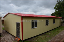 Guangzhou cheap price high quality eco-friendly prefabricated house factory