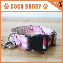 2015 Hot New Products for Multiple Styles Canvas Dog Collar with Metal Buckle