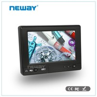 700cd/m2 brigthness USB /RS232 7 inch touchscreen 3G windows ip65 tablet